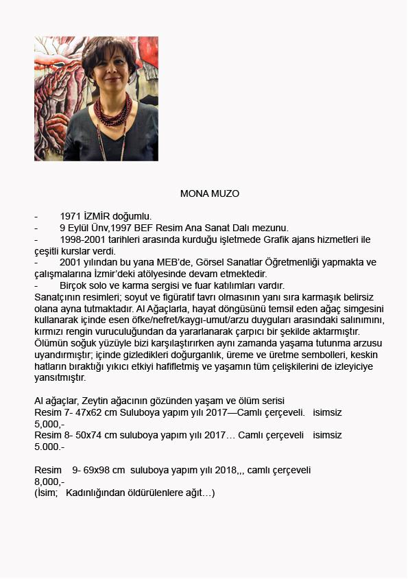 Mona Muzo-BiyografiTR