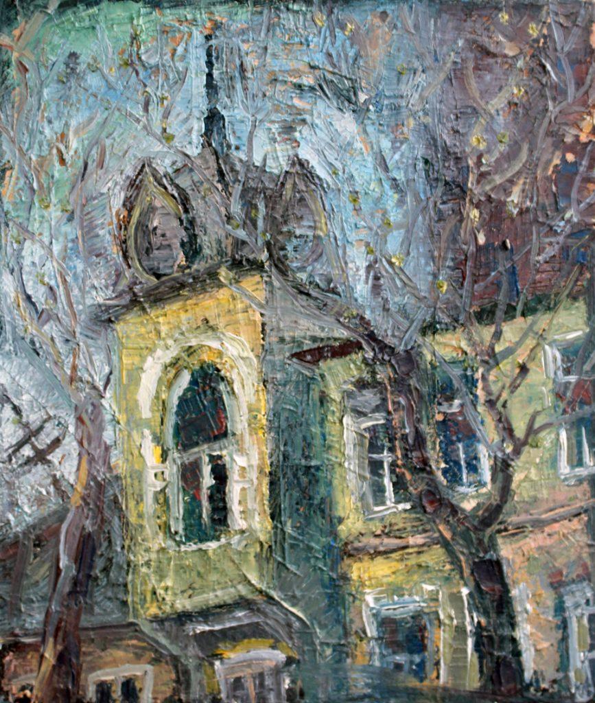 old Ufa 2019, oil, canvas, 20x30 cm