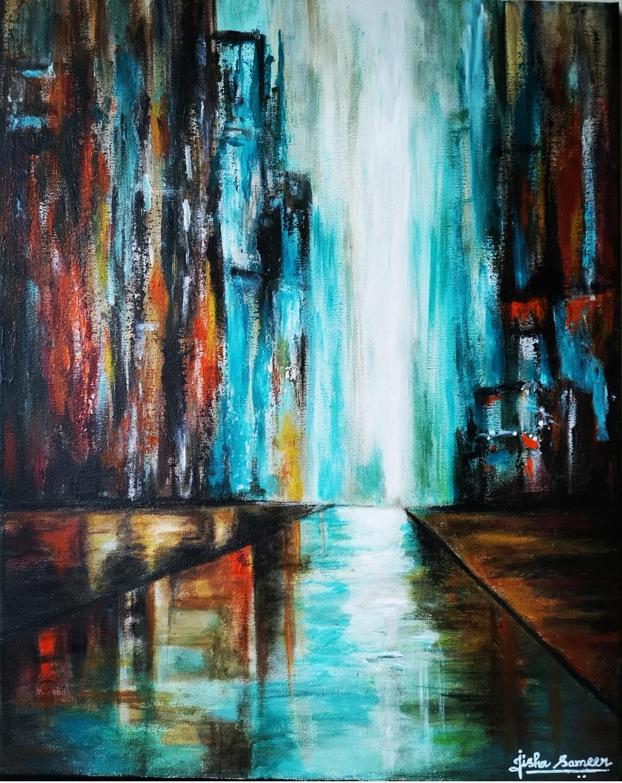 Jisha Sameer - The City_edit_177313911865130